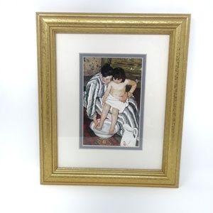 Other - The Child's Bath by Mary Cassatt. Fine Art Repro